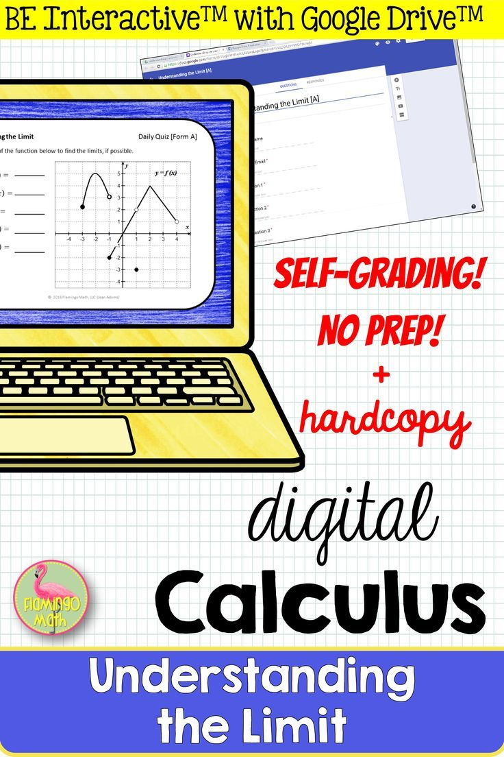 Calculus Limits By Graphs Quiz For Google Distance Learning Calculus Teaching Mathematics Ap Calculus Ab