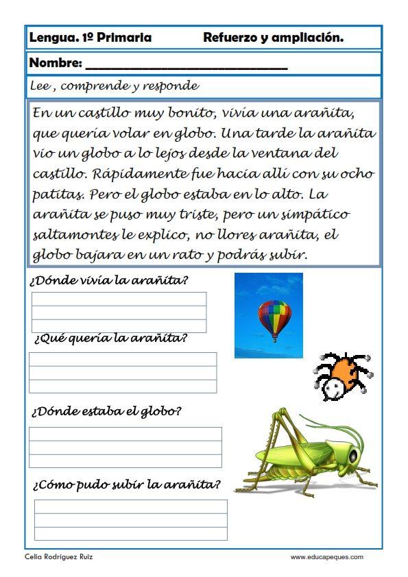 Aprende y Repasa Lengua Primaria Continuamos con el repaso a lengua de primaria con estas fichas para aprender y repasar.
