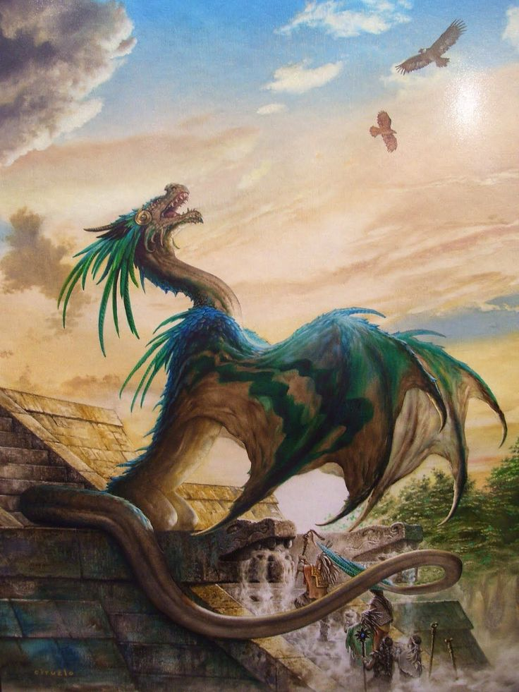 ...The Incas raised the green dragon. It was the biggest secret every kept in all of history...
