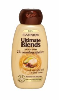 GARNIER ULTIMATE BLENDS SHAMPOO 250ML THE NOURISHING REPAIRER