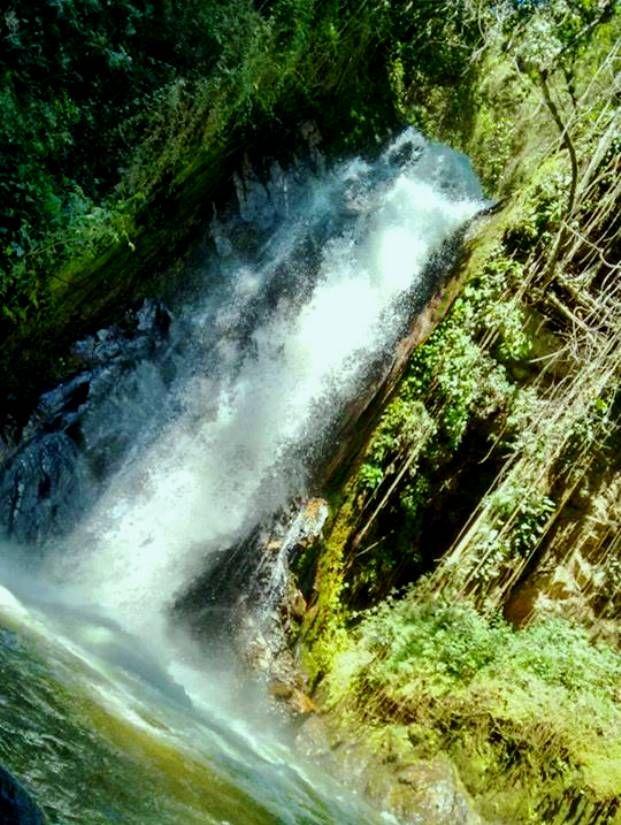 Colombia - Cascada El Caney, Piedecuesta, Santander.