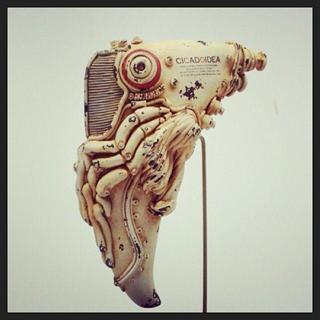 Amazing Robo/Steampunk Animal sculpture
