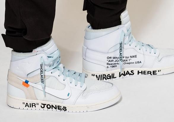 Off-White x Air Jordan 1 releasing in all-white. Virgil Abloh's Off-White will continue its partnership with Nike in 2018, as the two brands ride the wave of their highly coveted collection of ten sneakers that released not long ago. And once again, the Air Jordan 1 will be featured as part of the n...
