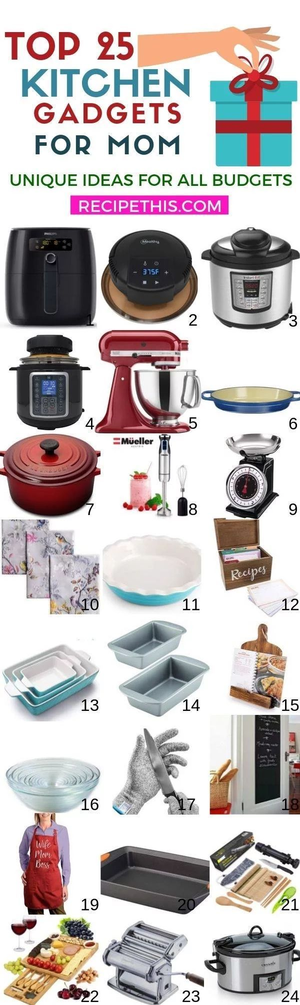 Top 25 Best Kitchen Gadgets For Mom Recipe This Cool Kitchen Gadgets Kitchen Gadgets Gifts Kitchen Gadgets