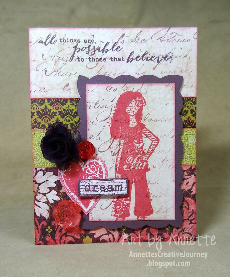 Ivy Lane papers - Dreamer stamp set - Annette's Creative Journey: CTMH Spring/Summer Idea Book Samples