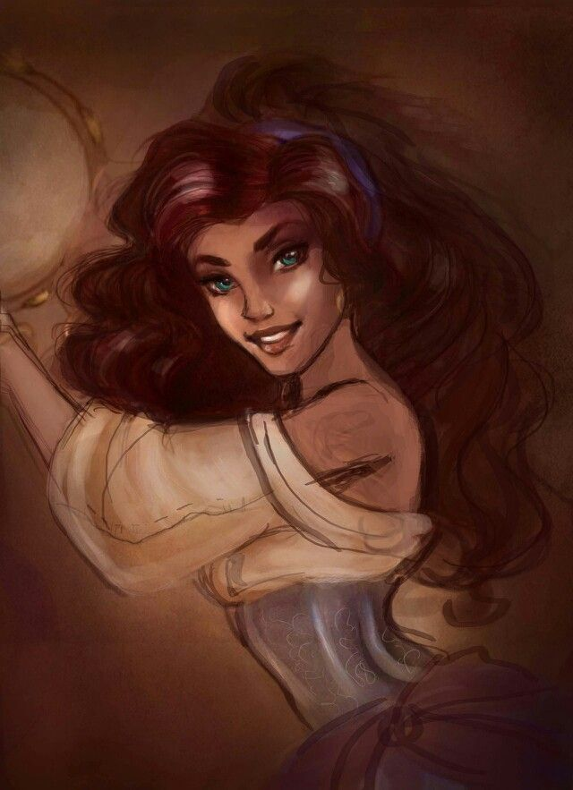 Esmeralda Inspirational Illustration
