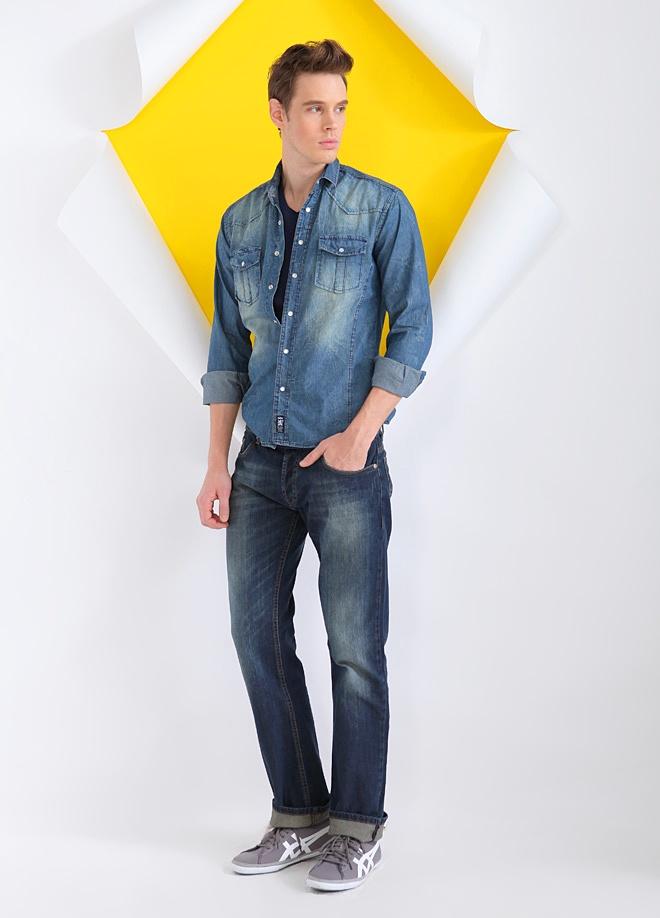 Ltb Jean pantolon Markafoni'de 59,50 TL yerine 44,99 TL! Satın almak için: http://www.markafoni.com/product/3328756/