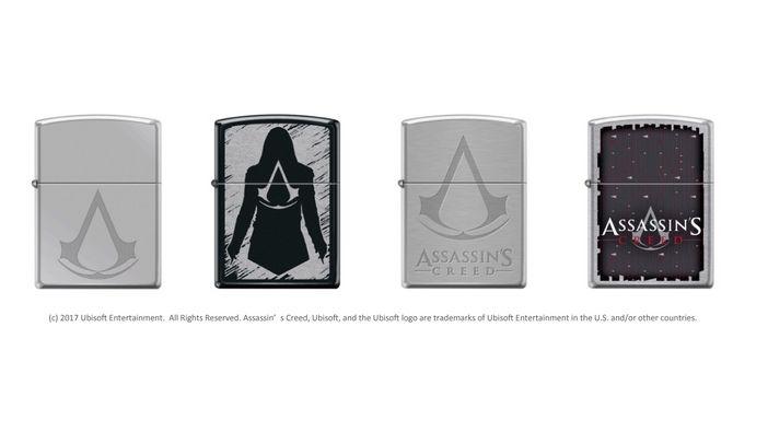 『アサシン・クリード』Zippoライター日本上陸! 教団の紋章をあしらった4バージョン登場