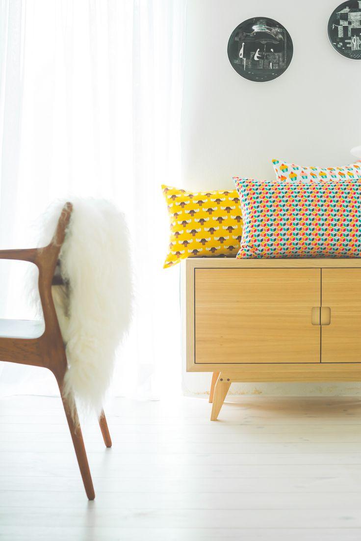 © stylus.pl | #homedecor #homeinspiration #interiors #fabric #pillows #stylus.pl #sweetcraft