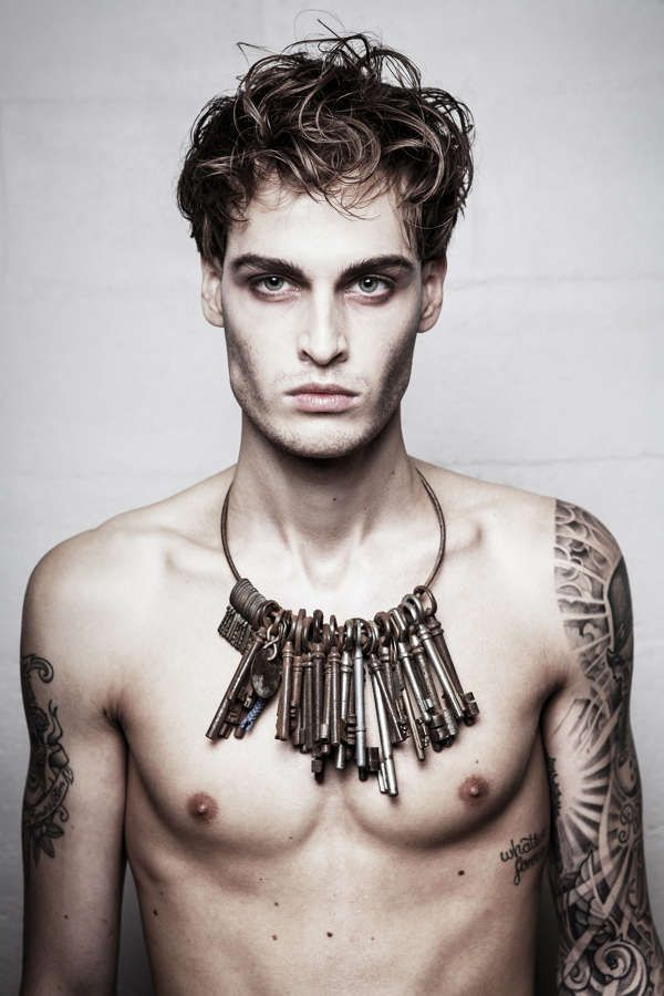 Dark Tattoo Filled Photography : men's fashion photography