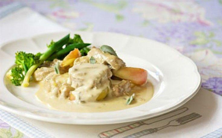 Μαγειρεύουμε μαζί... Χοιρινό φιλέτο με τυρί κρέμα