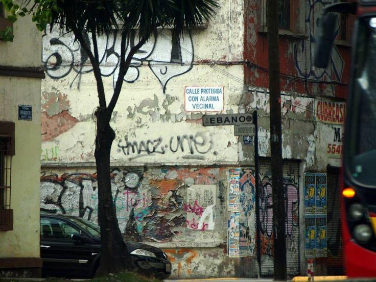 Mexico, Mexico City: street art
