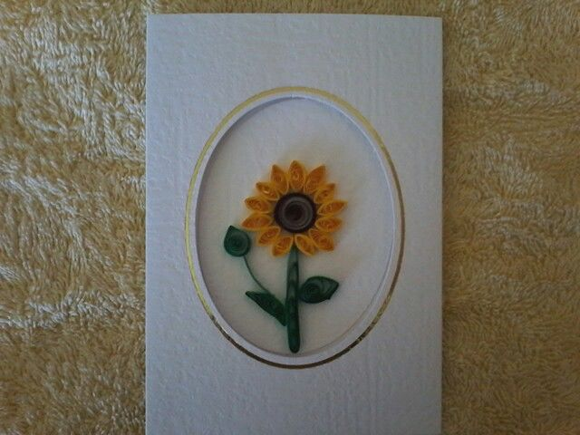 Luv the sunflower I have made