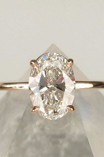 Cool Your Heart Will Melt When You See These Oval Engagement Rings