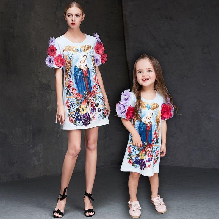 31.76$ Buy now - Mother Daughter Dresses Girls Beading Flower ...
