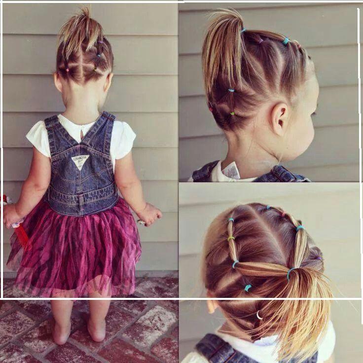 M s de 1000 ideas sobre peinados para ni a recogidos en - Trenzas para nina faciles ...