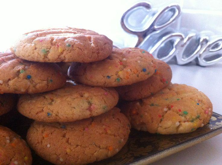 Sprinkle Cookies: Recipe