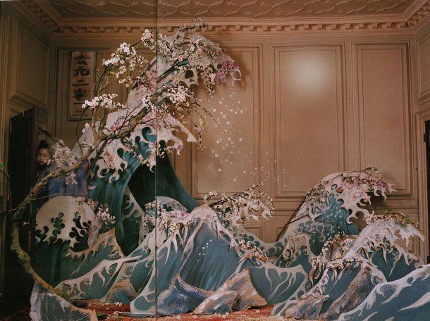 Waves: Xiao Wen, Timwalker, Art, Magazines, Tim Walker, W Magazine