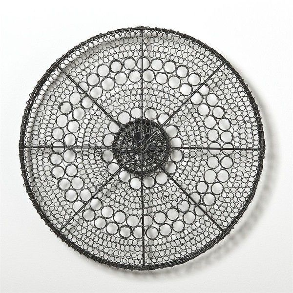 Crate U0026 Barrel Intricate Circle Small Metal Wall Art ($40) ❤ Liked On  Polyvore