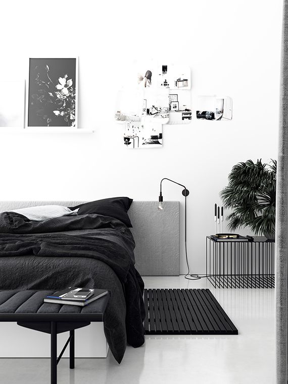 Black And White Bedroom best 25+ black bedroom design ideas on pinterest | monochrome