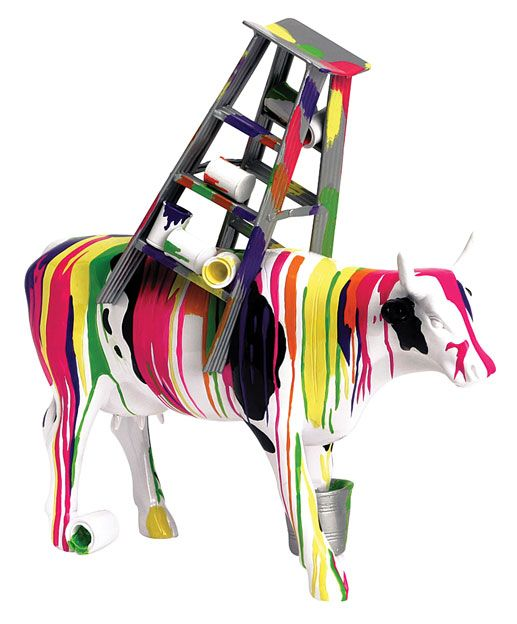 Cow Parade Figurines | ... exclaim holy cow it would be while surveying cow parade a collection