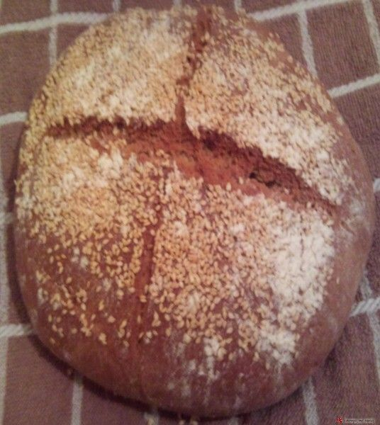 Ζυμωτό ψωμί με αλεύρι ζέας #sintagespareas