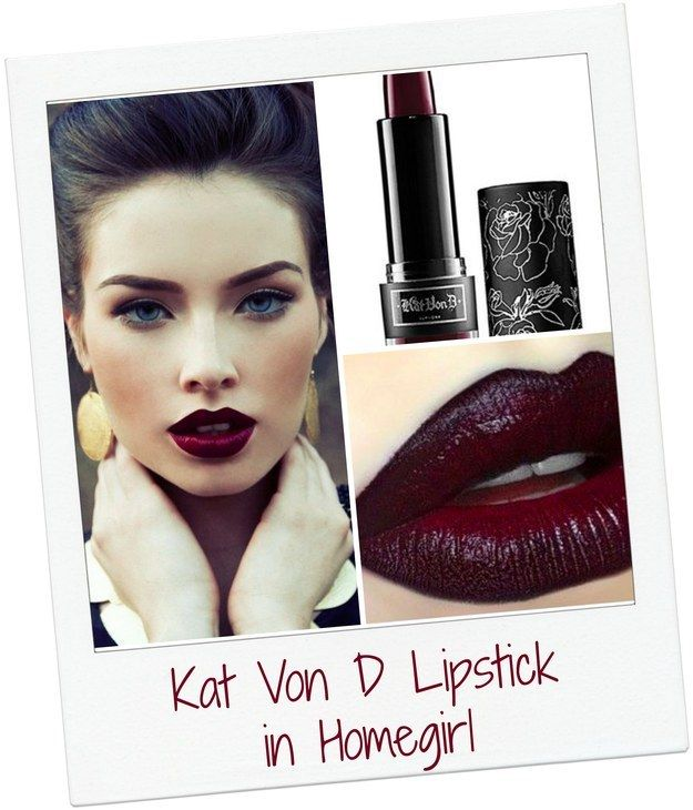 Kat Von D Lipstick in Homegirl | Community Post: 10 Lipsticks That Will Single-Handedly Change Your Life This Winter