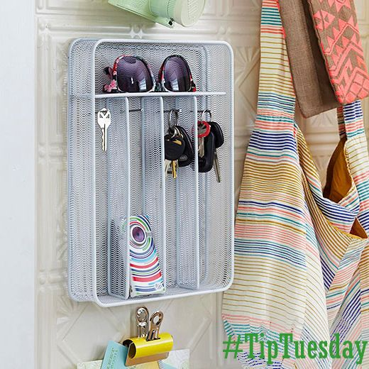 Check out these great ideas to repurpose everyday items! We LIKE anything that helps get us organized!  #TipTuesday      http://www.bhg.com/decorating/storage/projects/simple-solutions/#page=1