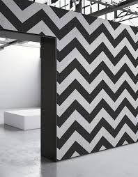Black Optical Stripes Wallpaper