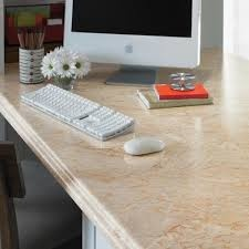 A Preformed Formica® Brand Laminate Countertop (available At Most National  Home Improvement Retailers) Cut To Fit With Stock Cabinetry As A Base Can  Become ...