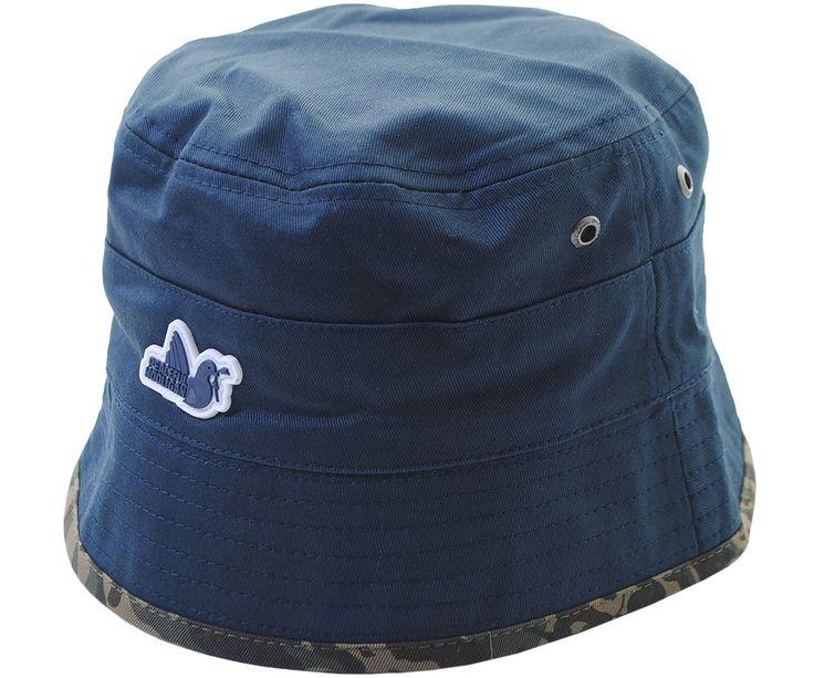 Peaceful Hooligan Revolver Bucket Hat Navy/Camo
