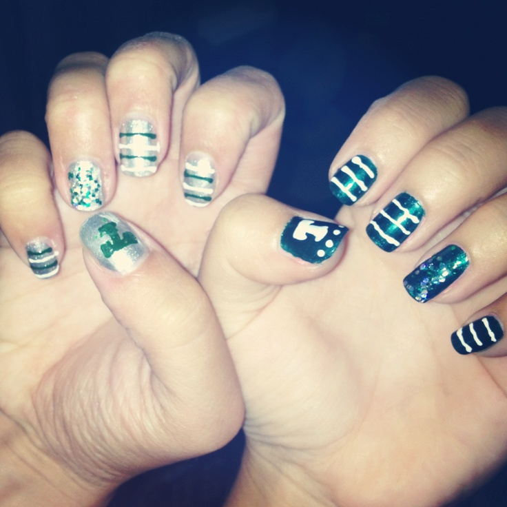 TULANE!!! nails by me