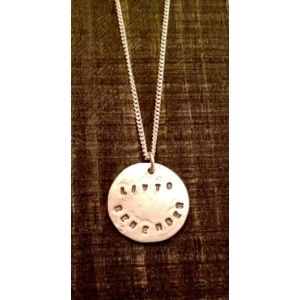 Livto remember is one of our most personal pieces within the Livto necklace collection. A highly sought after product this delicate piece of jewellery is understated yet speaks a thousand words. This charming coin sits beautifully on a nine inch chain. We think it's a beautiful reminder to that someone special who's been in your life. Why not have someone's initials stamped on the back of the coin to give it that extra personal touch?    Made from sterling silver.