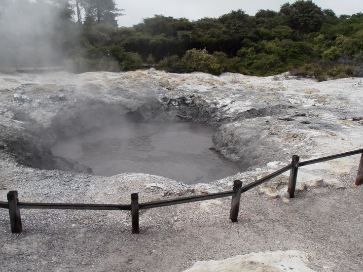 A bottomless hot pool