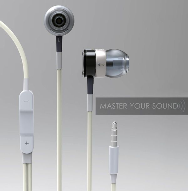 Master Your Sound Noise cancellation Earphones by Ye Yuan