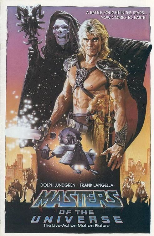 Masters of the Universe. Another childhood favorite.