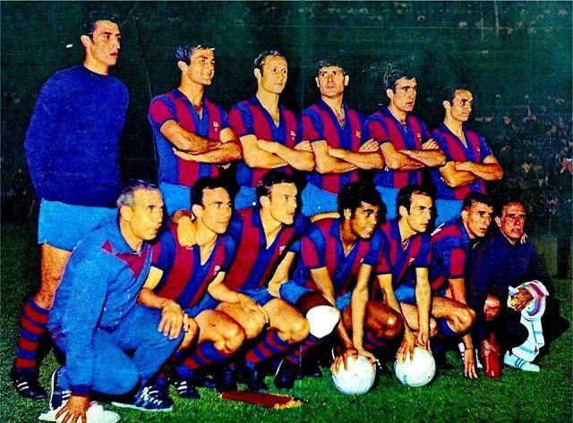 Equipos de fútbol: BARCELONA Campeón de Copa 1968