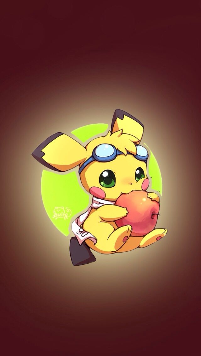 This is pichu the Pokemon  of ash her name is Pi (p-e) she is a female (duh XD)