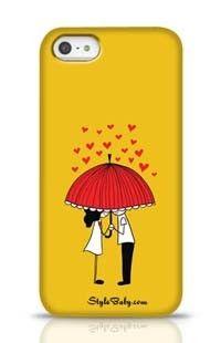 Love Couple Apple iPhone 5 Phone Case