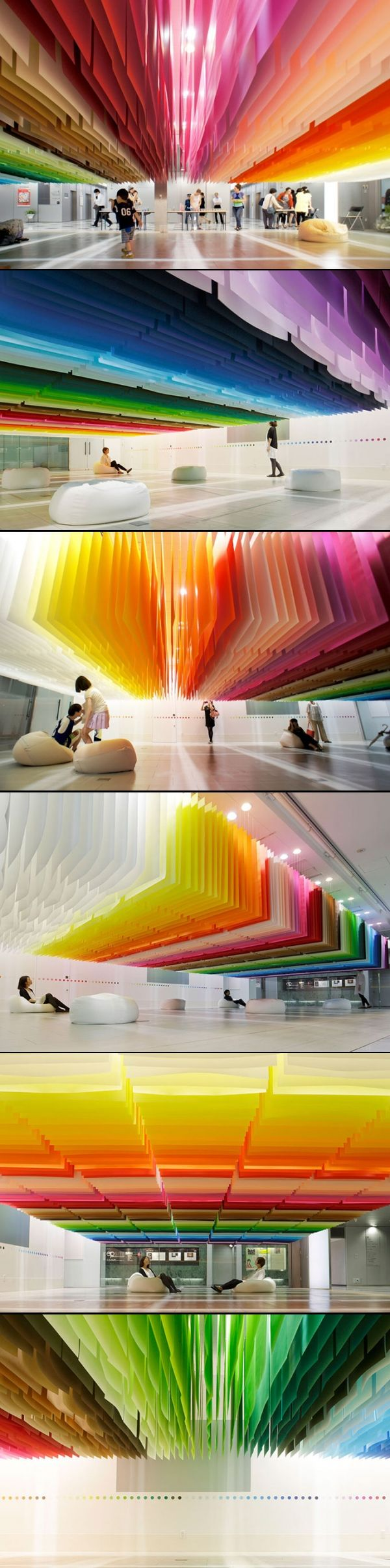 100 Colors Exhibition - Japan #colors #exhibit