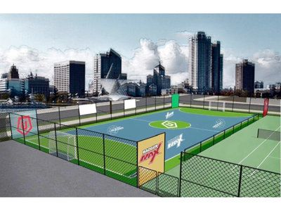 The Milwaukee County Parks in conjunction with the Wisconsin Sports Group (WSG) have announced a strategic partnership to renovate the Lincoln Park tennis courts into futsal courts this spring.