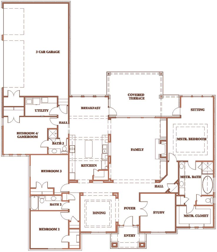 Don 39 t need the dining room i would stretch the sitting for Master bedroom with sitting area floor plan