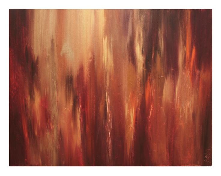 untitled 17, 18x24, Acrylic on Canvas, 2011