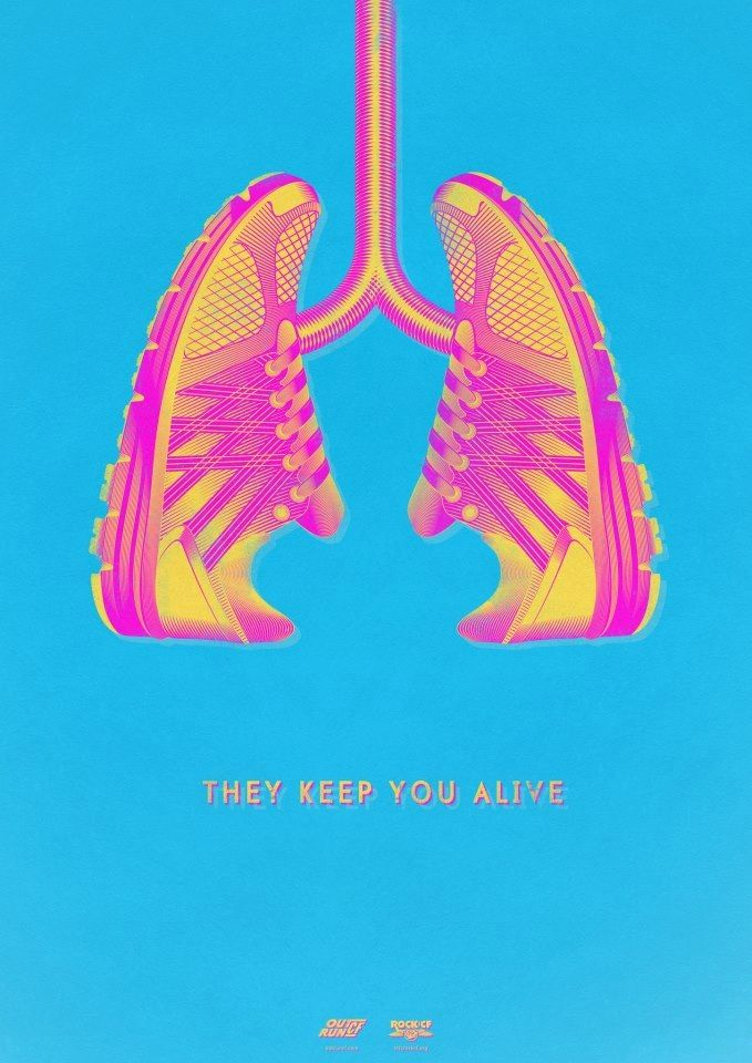 Stayin' alive: the best motivation for working out.  :)