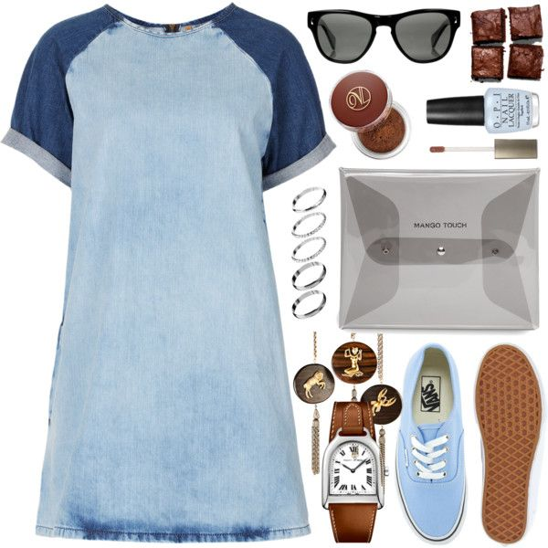 A fashion look from October 2015 featuring Topshop dresses, Vans sneakers and David Aubrey necklaces. Browse and shop related looks.