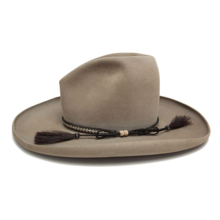 • Vintage Western Borsalino Hat with Horsehair Band • Size 7 • Great overall vintage condition