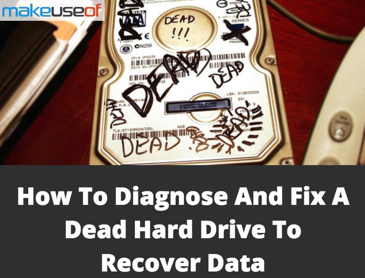 How To Diagnose And Fix A Dead Hard Drive To Recover Data #Tech #Geek