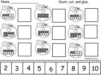 Pumpkin Roll, Color, & Cover - Young and Lively Kindergarten - TeachersPayTeachers.com