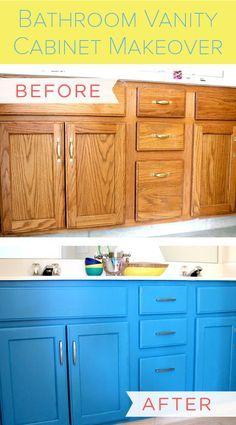 Best 25 Painting Bathroom Vanities Ideas On Pinterest