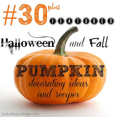 Over 100 Halloween and Fall Diy Home decor/decorating ideas with pumpkins!